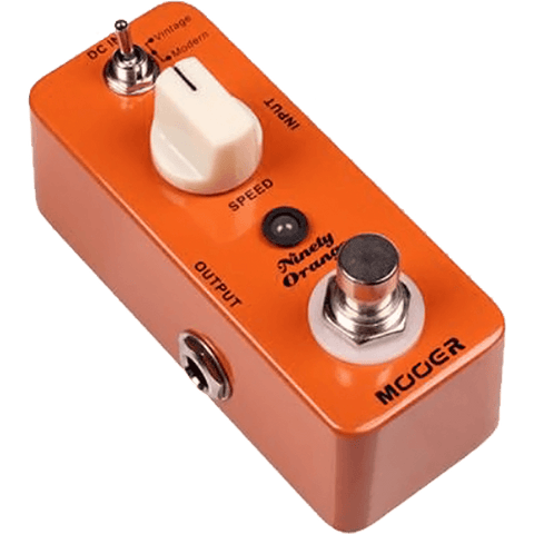 Mooer Ninety Orange Micro Analog Phaser Effect Pedal
