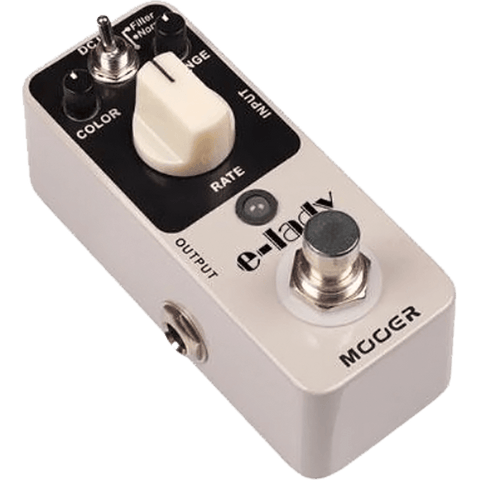 Mooer E-Lady Micro Analog Flanger Effect Pedal