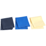 Music Nomad - Microfiber Suede Polishing Cloth 3-pack MN203