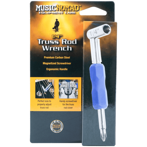 "Music Nomad - Premium Truss Rod Wrench - 1/4"" MN231"