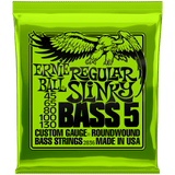 Ernie Ball Regular Slinky Nickel 5-String Bass 2836 .045-.130