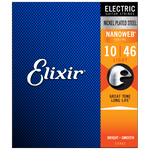 Elixir NANOWEB Nickel Electric — 12052 Light .010-.046