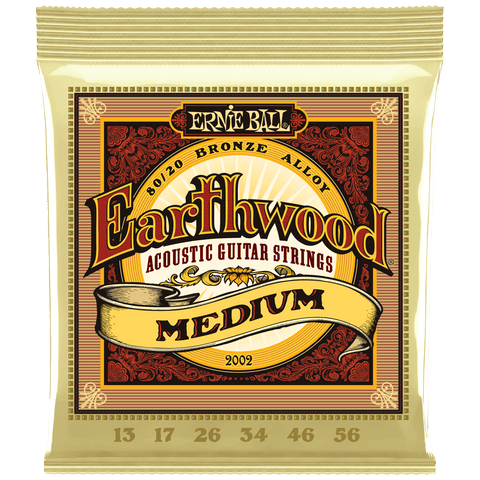Ernie Ball Earthwood 80/20 Bronze Acoustic Medium 2002 .013-.056