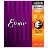 Elixir NANOWEB 80/20 Bronze Acoustic — 11102 Medium .013-.056