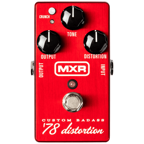 MXR M78 Custom Badass '78 Distortion Effect Pedal