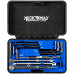 Music Nomad - Premium Guitar Tech Truss Rod Wrench Set  - 11 pcs. — MN235