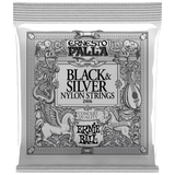 Ernie Ball Ernesto Palla Black & Silver Nylon Classical Strings 2406