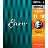 Elixir NANOWEB 80/20 Bronze Mandolin — 11525 Medium .011-.040