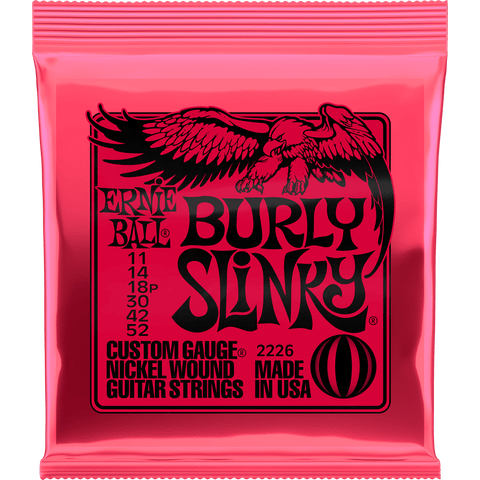 Ernie Ball Burly Slinky Nickel Electric 2226 .011-.052