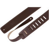 Levy's DM1-DBR Genuine Leather Guitar Strap