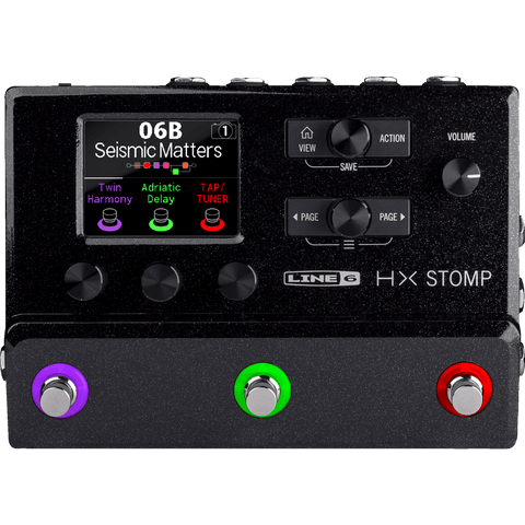Line 6 HX Stomp – Amp and FX Modeler