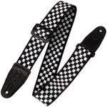 Levy's MP-28 Checkerboard Design, Polyester Guitar Strap