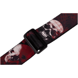 Levy's MPS2-093 Polyester Skulls Guitar Strap