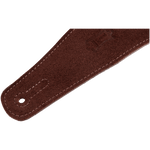Levy's MS26-RST Hand-Brushed Suede Guitar Strap