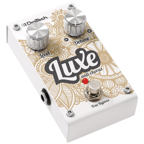 Digitech Luxe Anti-Chorus Polyphonic Detune Effect Pedal
