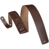 Levy's M1-BRN Genuine Leather Guitar Strap