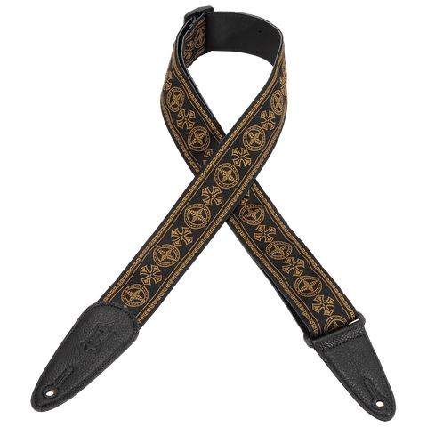 "Levy's MGHJ2-001 2"" Jacquard Guitar Strap"