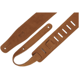 Levy's MS26-HNY Hand-Brushed Suede Guitar Strap