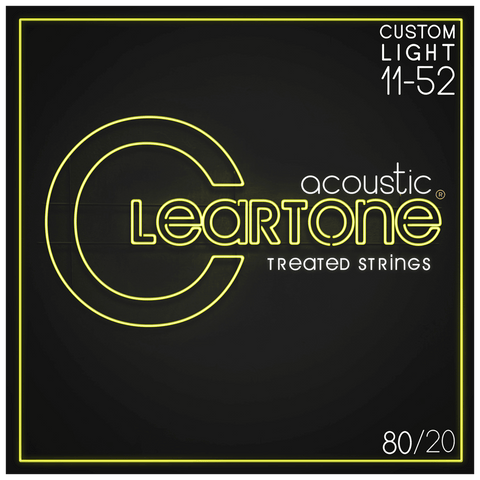 Cleartone 7611 80/20 Bronze Custom Light Strings 11-52