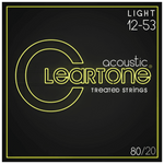 Cleartone 7612 80/20 Bronze Light Strings 12-53