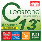 Cleartone 7613 80/20 Bronze Medium Strings 13-56