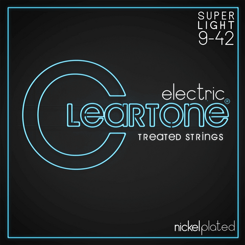 Cleartone 9409 Nickel Plated Super Light Electric Strings 9-42