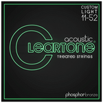 Cleartone 7411 Phosphor Bronze Custom Light Strings 11-52
