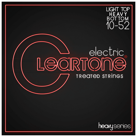 Cleartone 9520 Light Top Heavy Bottom Electric Strings 10-52