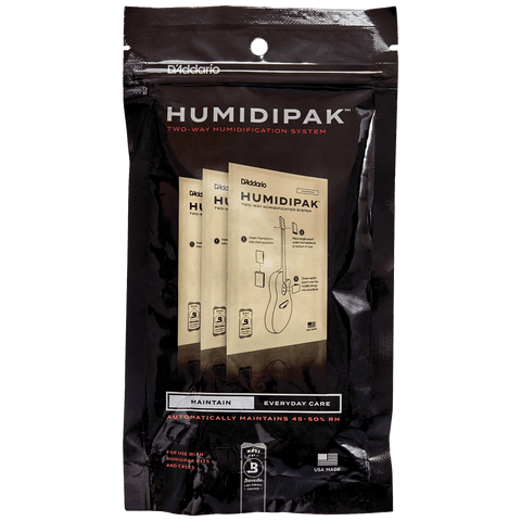 D'Addario Humidipak System Replacement Packets, 3-pack – PW-HPRP-03
