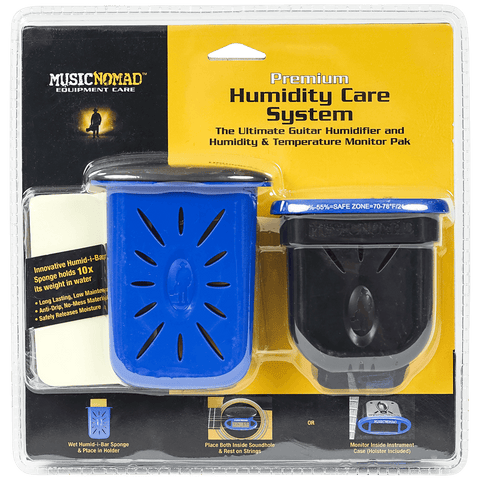 Music Nomad - Humidifier & Humidity-Temperature Monitor Pak MN306