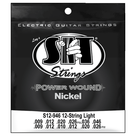 SIT Strings S12946 12-String Light Power Wound Nickel .009-.046