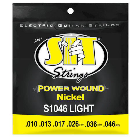 SIT Strings S1046 Light Power Wound Nickel .010-.046