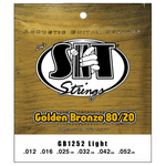 SIT Strings GB1252 Light Golden Bronze 80/20 Acoustic .012-.052