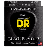 DR Strings BKE-10 Black Beauties Coated Electric Medium 10-46