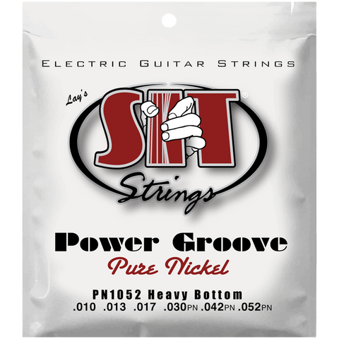 SIT Strings PN1052 Heavy Bottom Power Groove Pure Nickel .010-.052