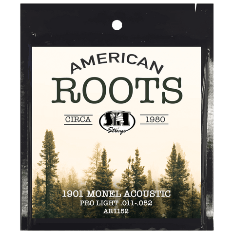 SIT Strings AR1152 American Roots Monel Acoustic Pro Light .011-.052
