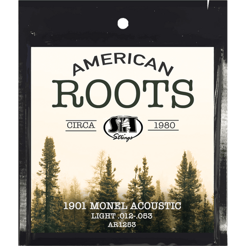 SIT Strings AR1253 American Roots Monel Acoustic Light .012-.053