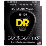DR Strings Black Beauties BKB5-45 Medium 5-String 45-125