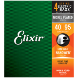 Elixir NANOWEB Nickel Bass — 14002 Super Light .040-.095