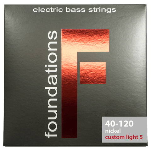 SIT Strings FN540120L Foundations Custom-Light 5-String Nickel