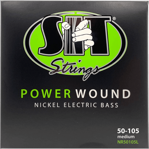 SIT Strings NR50105L Medium Power Wound Nickel