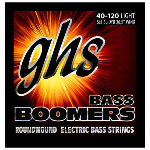 GHS Light 5-String Bass Boomers 5L-DYB 40-120