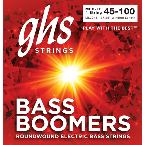 GHS Medium Light Bass Boomers ML3045 45-100