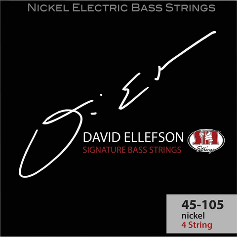 SIT Strings DE45105L David Ellefson Signature 4-String Bass Strings