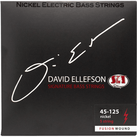 SIT Strings DRB545125L David Ellefson FUSION Signature 5-String Bass Strings