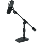 Gator Telescoping Boom Mic Stand Podcasting & Bass Drum, GFW-MIC-0822