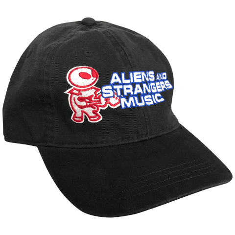 Aliens And Strangers Music Logo Cap