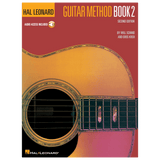 Hal Leonard Guitar Method Book 2 – Second Edition Book/Online Audio