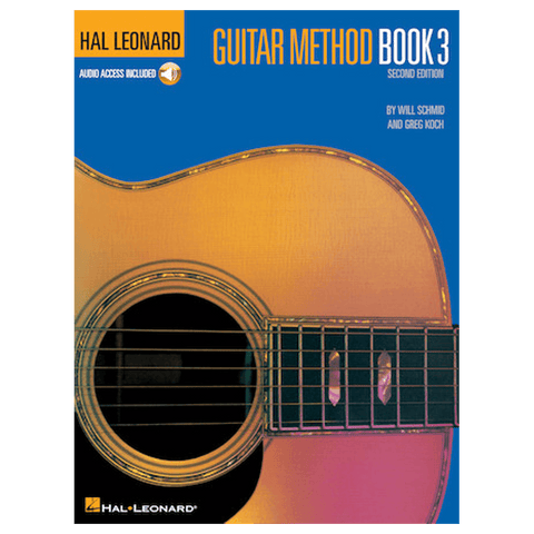 Hal Leonard Guitar Method Book 3 – Second Edition Book/Online Audio