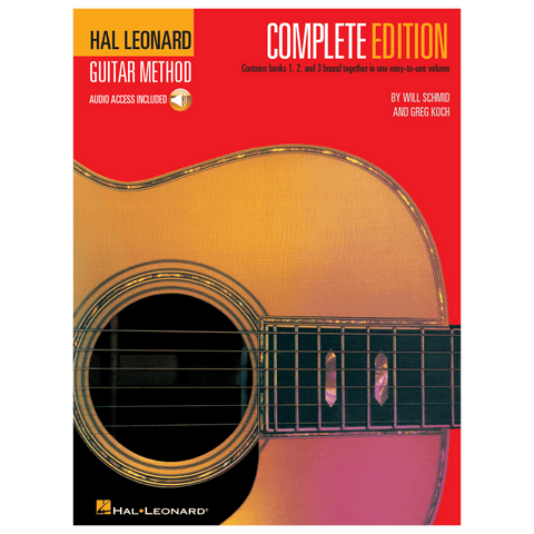 Hal Leonard Guitar Method, Second Edition – Complete Edition with Online Audio